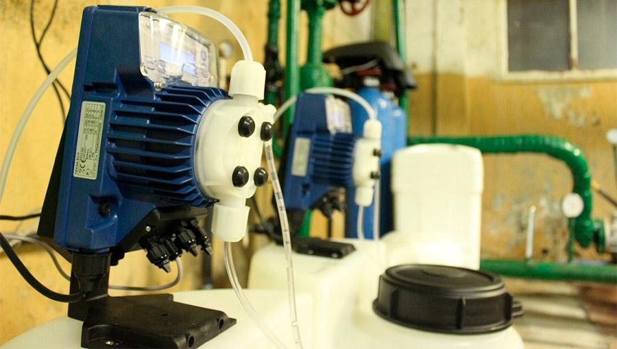 Насос дозатор Seko для системы очистки воды