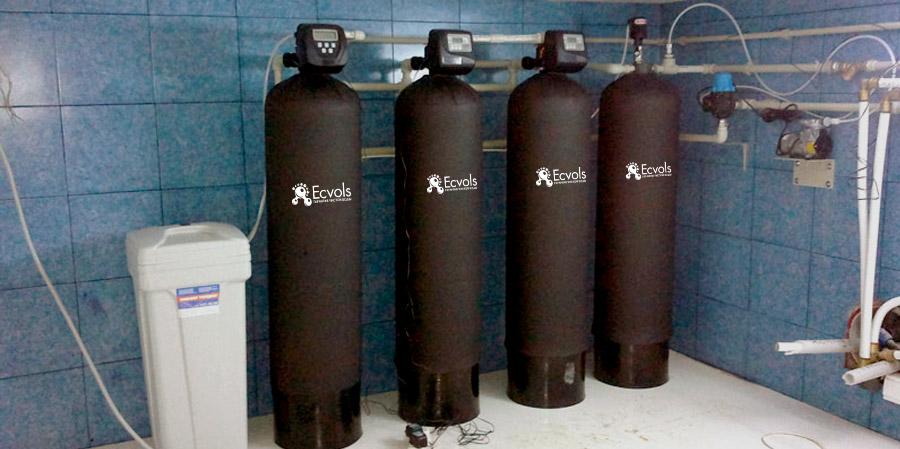 угольная система очистки воды
