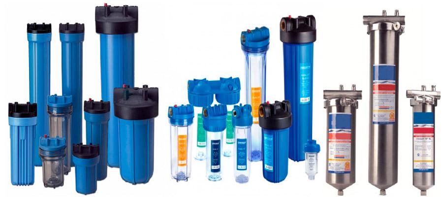Разновидности фильтров для тонкой очистки воды