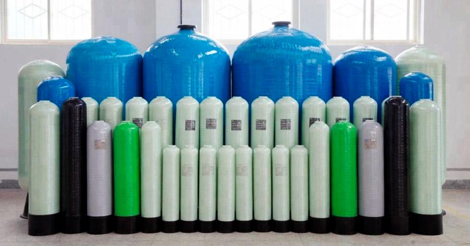 композитные корпуса для колонн водоочистки
