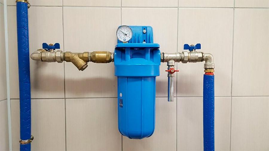Фильтр грубой очистки  в системе очистки воды