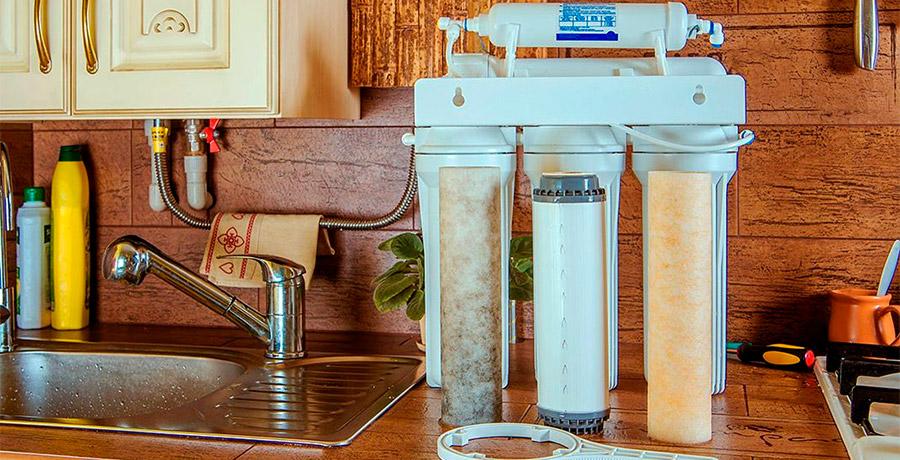 фильтры для очистки воды в квартире картинка