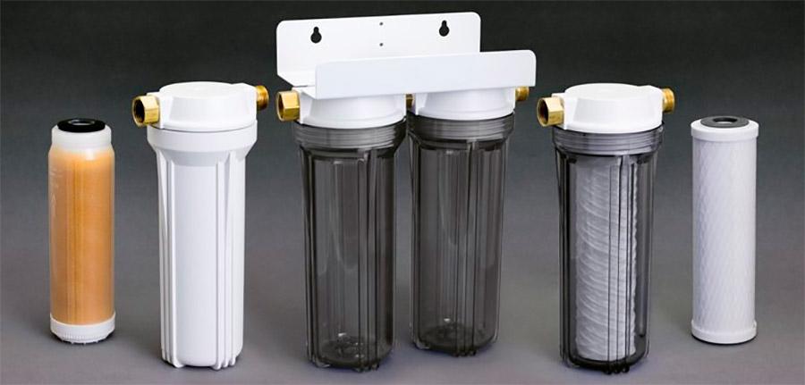 Разновидность фильтров умягчения воды